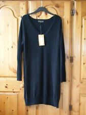 Ladies Per Una Speziale Pure Cashmere Black Dress Size 16 RRP 149.00