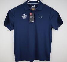 Under Armour Mens Polo Shirt L Toronto Maple Leafs NHL Hockey Fathers Trip 2017