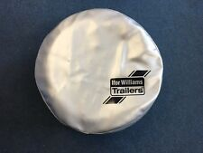Ifor Williams Trailers Spare Wheel Cover for a 195/60R12C Wheel and Tyre