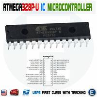 1 x ATmega328P-U IC Atmel Chip ATmega328P DIP28 MCU Arduino IC ATmega328 USA