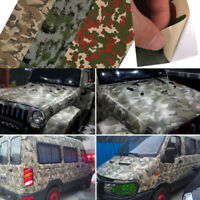 Army Camouflage Adhesive Vinyl Film Wrap Sticker Air Bubble  Free Sticker 60''x