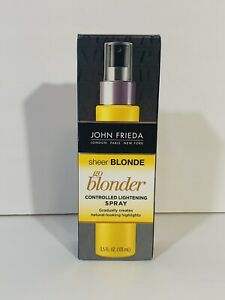 John Frieda Sheer Blonde Go Blonder Controlled Light Spray 103mL NEW IN BOX BGS