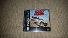 Rally Cross Sony Playstation 1 PS1 Game, NTSC U/C, US/Canada Version, NTSC NTSC
