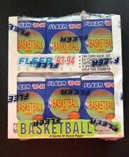 1993-94 Fleer Basketball Box Series 1-Factory Sealed And Unopened