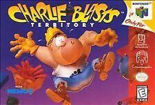 ***CHARLIE BLASTS N64 NINTENDO 64 GAME COSMETIC WEAR~~~