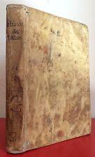 ISTORIA DEL CARDINAL ALBERONI Amsterdam 1720 Ritratto inciso Legatura Pergamena