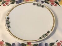Vintage Epiag Czechoslovakia China Plate - Gold Trim - Excellent Cond, Antique