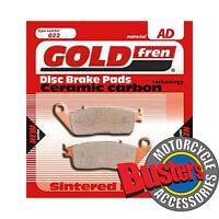2007 SUZUKI GSF 650 BANDIT GSF650 /> FULL SET SINTERED HH BRAKE PADS *GOLDFREN*