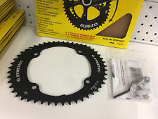 Osymetric Bcd145x4 Bolt 50T Bike Outer Chainring (Black) #264166