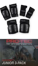 Pro Tec Street Youth 3 Pack Black