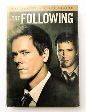 """The Following"" Season 1 DVD 5 Disc Box Set EC"