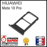 Tiroir double carte sim pour Huawei Mate 10 Pro support rack dual nano slot