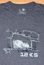 PERU Peruvian machu picchu T Shirt TEXTURED GRAPHIC SIZE XXL nasca inca RARE