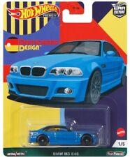 Hot Wheels BMW M3 E46 Blue DEUTSCHLAND DESIGN FPY86-957C 1/64
