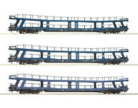 """Roco H0 74097 Autotransportwagen-Set """"Christoforus-Express"""" der DB - NEU + OVP"""