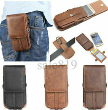 Luxury Card Wallet Belt Clip Holster Pouch Flip Soft PU Leather Phone Case Cover
