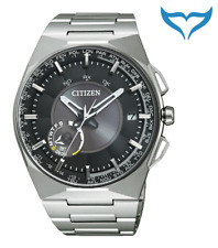 Citizen Elegant Satellite Wave CC2006-53E 10bar Eco-Drive Saphir Titanium Herren