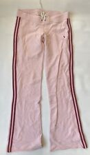 Abercrombie and Fitch Lounge Sweat Flare Pants Women Size Small Worn Pink