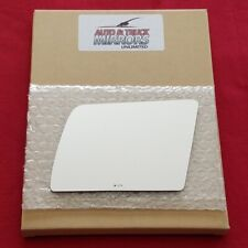 Mirror Glass + Adhesive For Chevy Pickup, Gmc Pickup, Suburban Driver Side Repla
