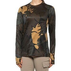 The NORTH FACE Ultra Warm Poly CAMO Base Layer L/S SHIRT Top Womens SMALL NEW