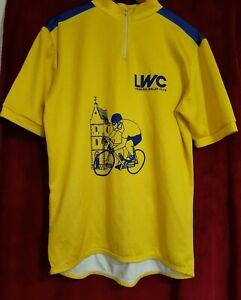 Men's yellow Cycling T-shirt size XL