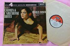 BIZET Carmen & L'arlesienne Suites NPO Charles Munch Decca Phase 4 Stereo LP