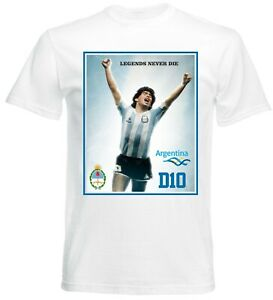Diego Maradona T-Shirt Fußball Dios 10 Diego