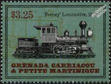 New York Central 1880 Forney No.26 0-4-4 Steam Train Locomotive Stamp