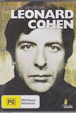LADIES AND GENTLEMEN MR LEONARD COHEN -  DVD - NEW -