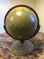Vintage Cram Globe 12 Inch Terrestrial No. 53