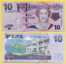 Fiji 10 Dollars p-111b 2011 UNC