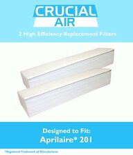 2 Aprilaire 201 Replacement Air Filters Fit 2250 & 2200 Air Purifiers