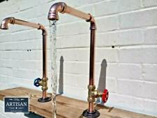 1 x  Copper Pipe Swivel Tap Faucet - Rustic / Vintage / Industrial