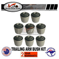 Upper&Lower Trailing Control Arm Rubber Bush Kit For Nissan Patrol GQ GU Y60 Y61