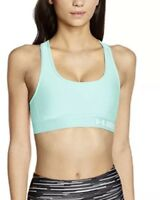 Under Armour Women's Mint Green Crossback Mid Sports Bra  Size L 75308