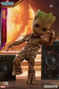 Guardians of the Galaxy Vol. 2 Life-Size Groot - Hot Toys LMS005 Original!