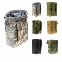 Utility Pouch Bag Airsoft Military Hunting Molle Belt Tactical Dump Drop Bag