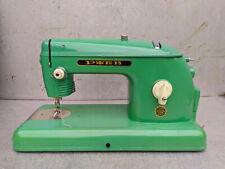 Vintage Retro USSR Soviet Sewing Machine & Case