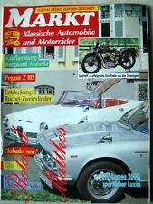 MARKT 10-91+ALFA ROMEO 2000/2600+BORGWARD+PEGASO Z 102+TRIUMPH TR 5+GOGGO/ISSAR