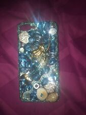 Mermaid Style Blue Jewelled Rhinestone Crystal IPhone 6 Or 7 Plus Case