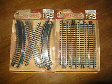 NEW~T & S Train Tracks~Straight Curved & Cross Rails~2 Packs