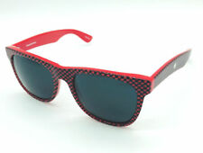 """Mosley Tribes """"Free City"""" RCHK Checkerboard Red & Black on Red / Grey Sunglasses"""