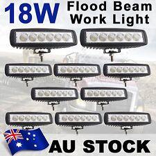 10X 18W LED Flood Work Driving Light Bar Razor Snowmobile Jeep 4WD Lamp AU SHIP