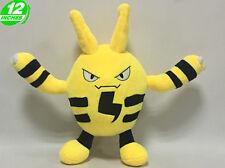 12'' Elekid Plush Pokemon Anime Stuffed Animal Doll Toy Game Cartoon PNPL4395