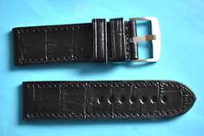 Strong 26 mm cinturino lavorazione a coccodrillo extra stabile