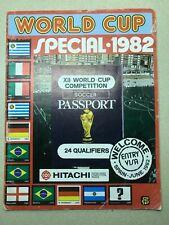 RARE  FKS World cup 1982 SPECIAL Sticker Album - EMPTY