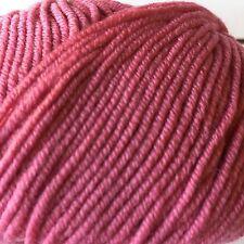 Merino 6 Trendsetter Yarn Merino Wool Knitting Sweater Pink Scarf Vest Crochet