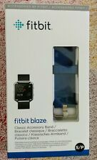 Fitbit Blaze ~ Classic Accessory Band ~ S/P Blue