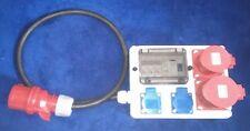 Stromverteiler,Adapter 32A auf 2xSchuko ,1xCEE 16A , 1x CEE 32A