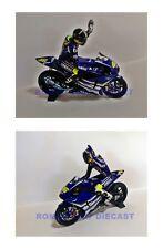 1:12 Set Minichamps Bike + Conversion Figure Valentino Rossi Jerez Test 2007